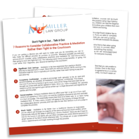 7 Reasons to Consider Collaborative Divorce - Complimentary Report preview